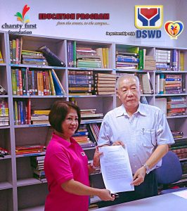 Partnership with DSWD Pantawid Pamilya Program